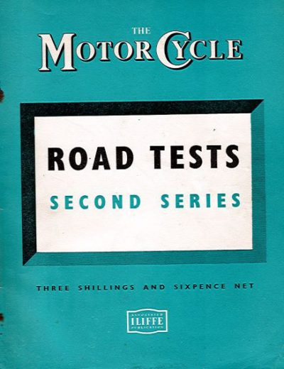 MotorCycleRoadTestsSecondSeries