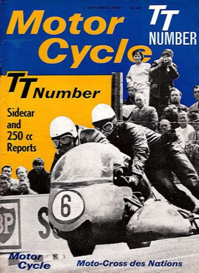 MotorCycleTTNumber1966