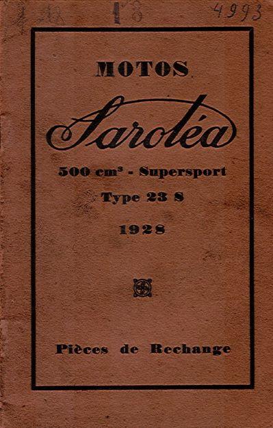 MotosSarolea500cm3piecesRechange1928
