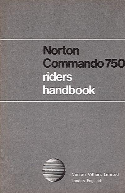 NortonCommando750RidersHandbook