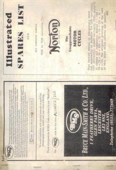 NortonIllSparesListRoadster1936 [website]