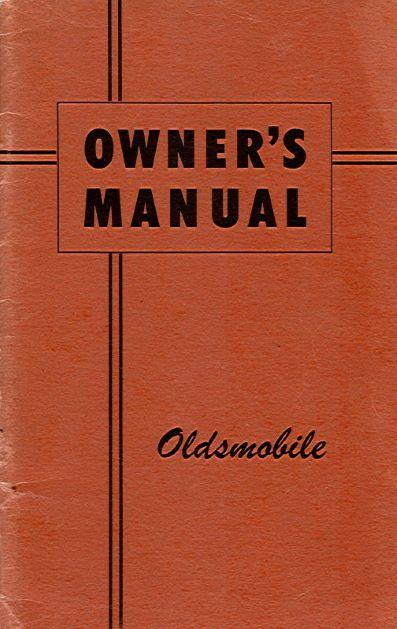 OldsmobilOwnersManual
