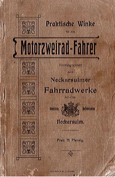 PraktWinkeMotorzweiradFahrerNeckarsFahrradwerke1904