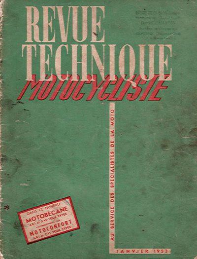 RevueTechniqueMotocyclisteJanvier1953