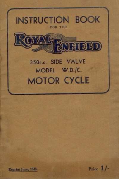 RoyalEnfieldInstrBook350SideValve [website]