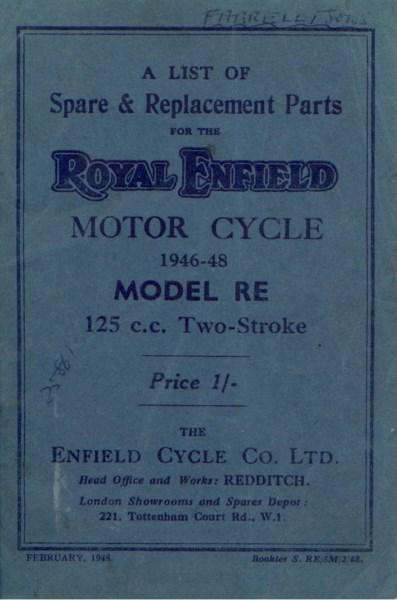 RoyalEnfieldSparePartsListModRE1946 [website]