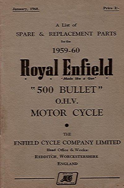 RoyalEnfieldSpareReplacementParts1959-60Repl