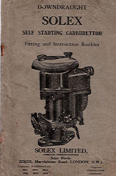 SolexSelfStartingCarburettor