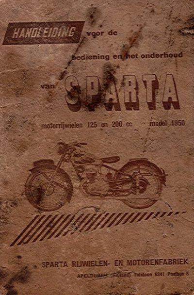 SpartaHandleiding125-200cc1950Beschadigd