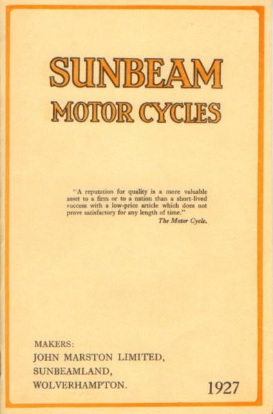 Sunbeam1927 [website]