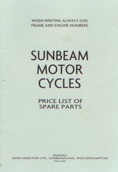 SunbeamMotorcPricelistMarston [website]