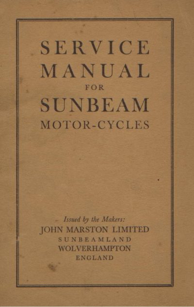 SunbeamServiceManual
