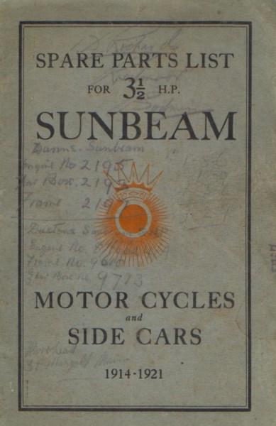SunbeamSparePartsList1914-1921 [website]