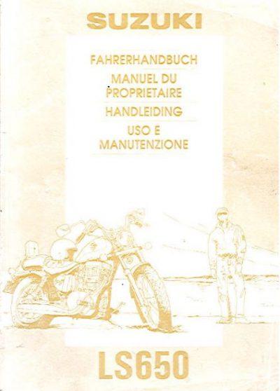 SuzukiLS650Fahrerhandbuch