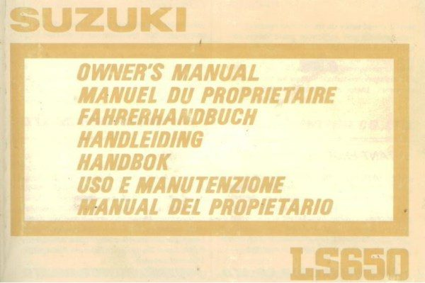 SuzukiLS650OwnersManHandleiding [website]
