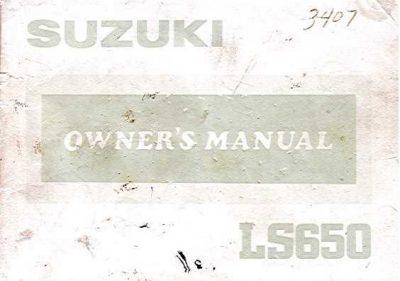 SuzukiLS650OwnersManual
