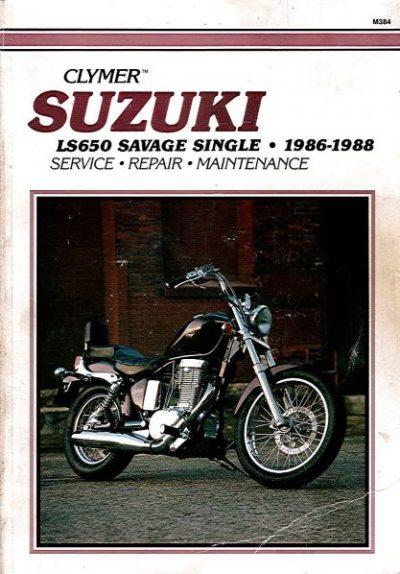 SuzukiLS650SavageSingleClymer