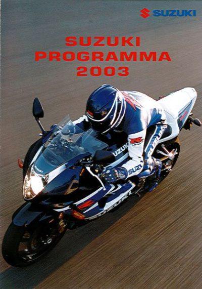 SuzukiProgramma2003Verkoopfolder