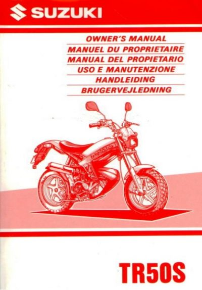 SuzukiTr50SOwnersMan [website]