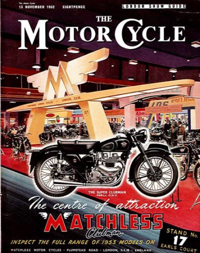 TheMotorCycleLondonShowGuide1952