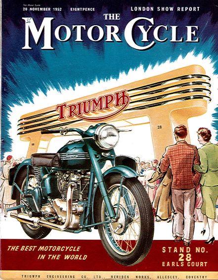 TheMotorCycleLondonShowReport1952