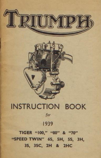 TriumphInstrBook1939TigerSpeedTwin [website]