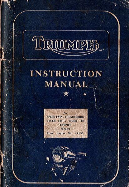 TriumphInstructionManualNo.10