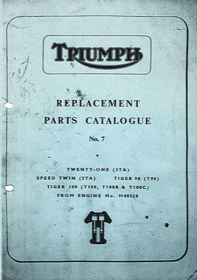 TriumphReplPartsCatNo.7