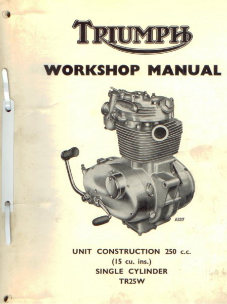 TriumphWorkshopManualUnitTR25W [website]