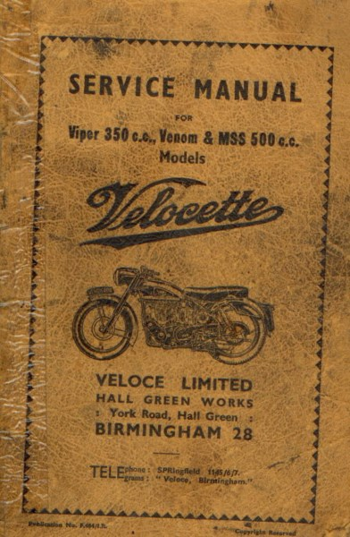 VelocetteServiceManual1958 [website]