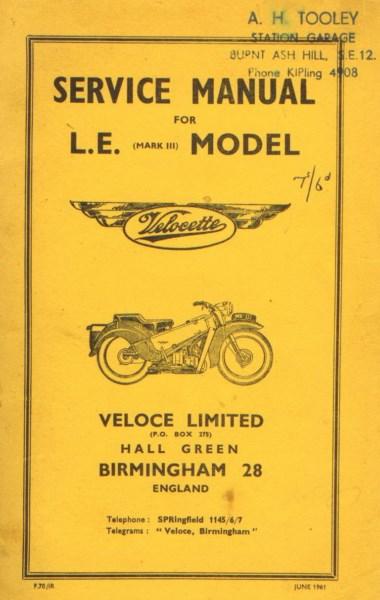 VelocetteServiceManualLEModel1961 [website]