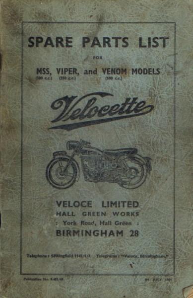 VelocetteSparePartsList1964vuil [website]