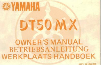 YamahaDT50MXOwnersMan [website]