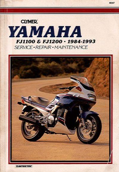 YamahaFJ1100ServiceRepairMaintClymer