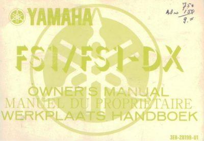 YamahaFS1FS1-DXOwnersManGebruikt [website]
