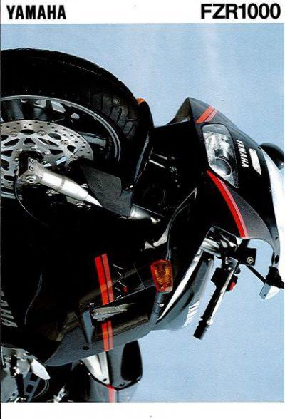YamahaFZR1000Verkoopfolder