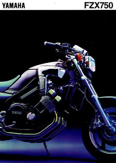 YamahaFZX750Verkoopfolder