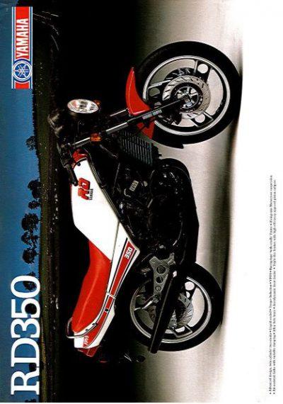 YamahaRD350Brochure