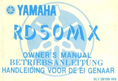 YamahaRD50MXOwnersMan [website]