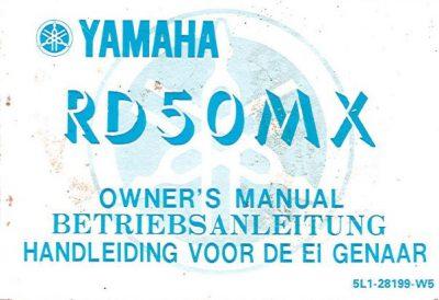 YamahaRD50MXOwnersManVuil