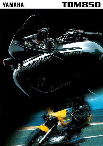 YamahaTDM8501996Brochure