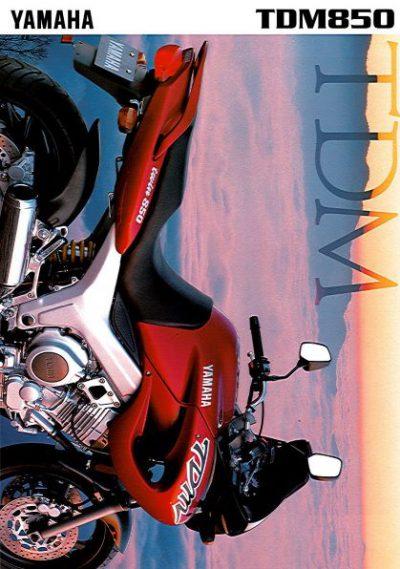 YamahaTDM8501997Brochure