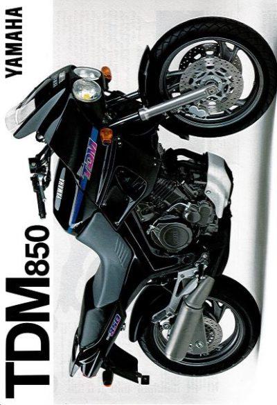 YamahaTDM850Brochure
