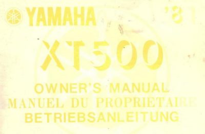 YamahaXT500OwnersMan [website]