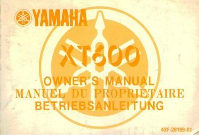 YamahaXT600OwnersManual [website]