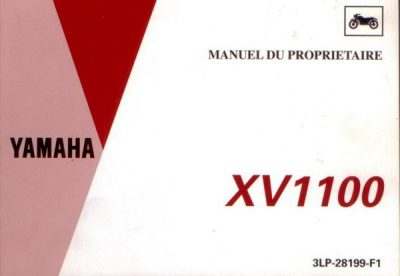 YamahaXV1100ManuelPropr [website]