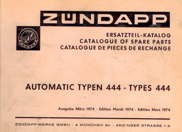 ZundappAutomatic444 [website]